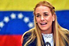 """""""A pesar de la represión de la dictadura, seguimos firmes"""": Lilian Tintori"""