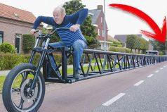 Sin cadena, para caminar y hasta para patinar. ¡Las bicicletas más extrañas! ¿Con cuál te quedas?