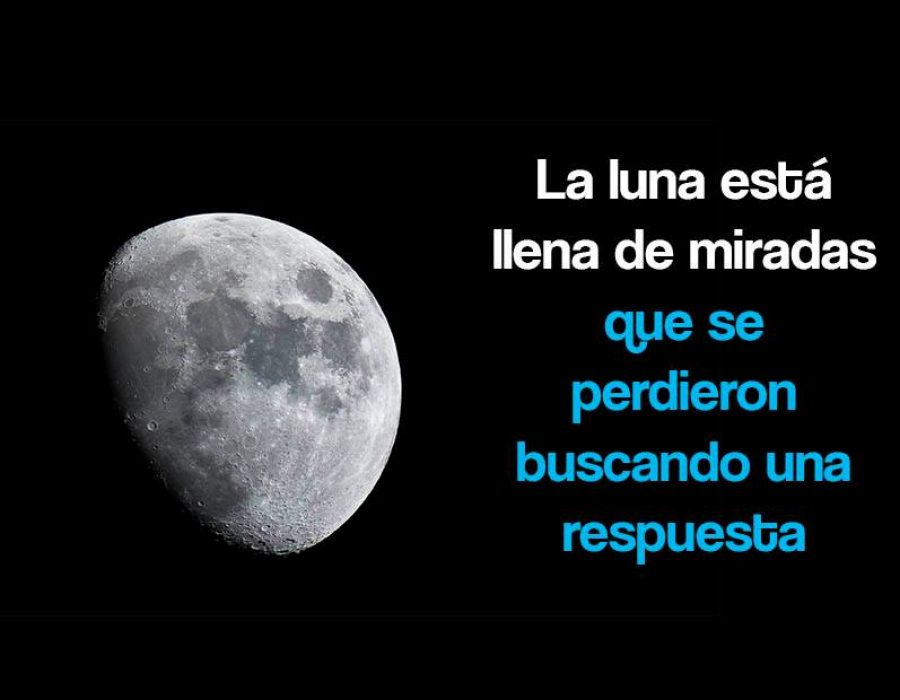 La luna está llena de miradas…
