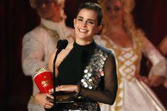 Emma Watson, primer premio a la mejor interpretación sin distinción de género en los MTV Awards 2017