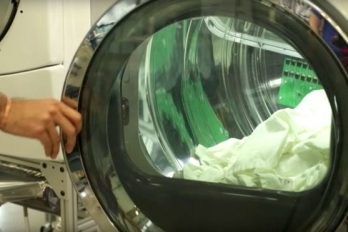 La secadora ultrasónica que usa ondas sonoras en lugar de calor para secar la ropa (y gasta un 70% menos de energía)