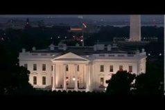 La misteriosa luz roja en la Casa Blanca que intriga a todo el mundo. ¿Tu qué crees que es?