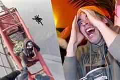 ¡Este video pondrá a prueba tus nervios! Dos hombres escalando una torre de 600 metros de altura… ¡Sin arnés!