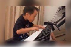 El pianista de 4 años que te dejará con la boca abierta , ¡impresionante!
