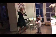 ¡Qué tiernos! Ivanka Trump enamora al mundo con este maternal video bailando con sus hijos