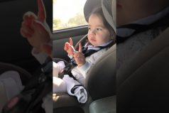 La pequeña Maddie aprendió a bailar antes que a caminar… ¡Al ritmo de 'Uptown Funk' de Bruno Mars!