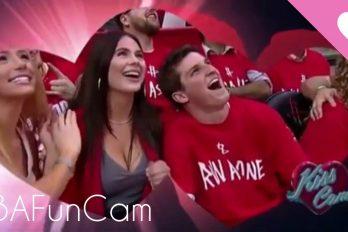 ¡De malas en el amor… y en el juego! Ni siquiera la kiss cam lo sacó de la friendzone. ¡Y su equipo tampoco ganó!
