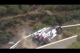 ¡Uyyy, qué cerca! El piloto de rally Tomasz Kasperczyk estuvo a nada de irse a un precipicio