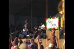 Este show te dejará literalmente sin palabras: Snoop Dogg en concierto con intérprete… ¡De lenguaje de señas!