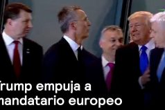 ¡Abran paso, aquí estoy yo! El empujonazo de Donald Trump al Primer Ministro de Montenegro en la OTAN