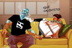 Artista transforma la vida diaria con su esposa en adorables comics