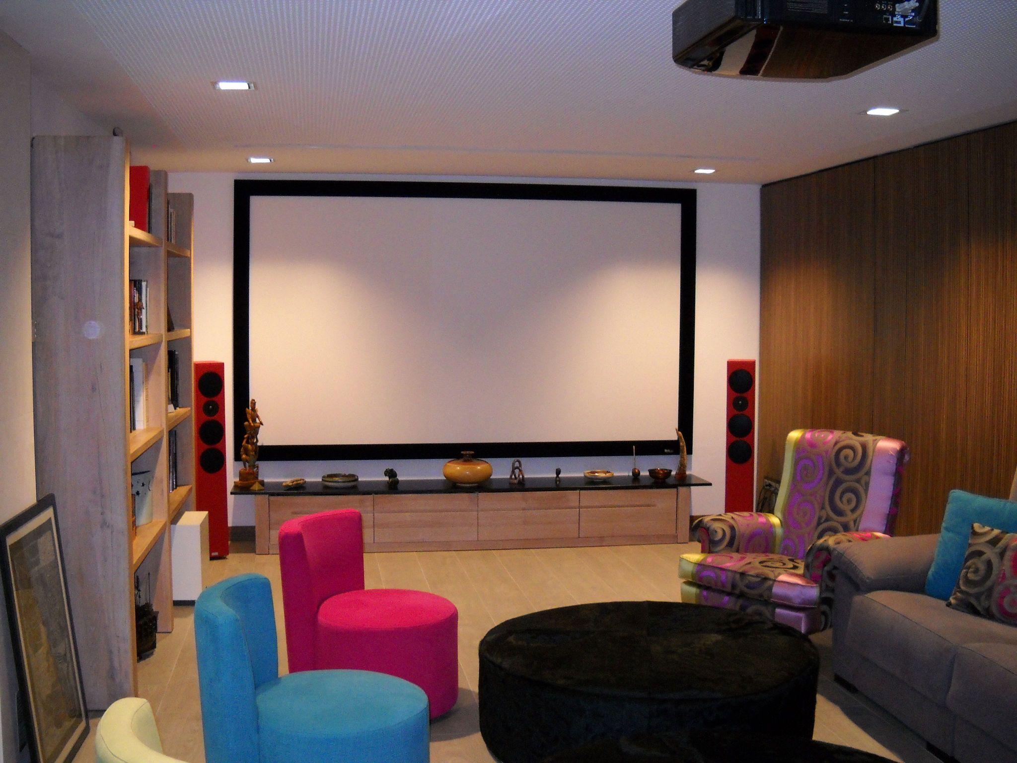 te imaginas tener una sala de cine en casa te contamos