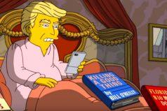 Los 100 primeros días de Trump como presidente, según 'Los Simpsons'