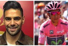 Falcao García y su mensaje de apoyo a Nairo Quintana. ¡Orgullo colombiano!