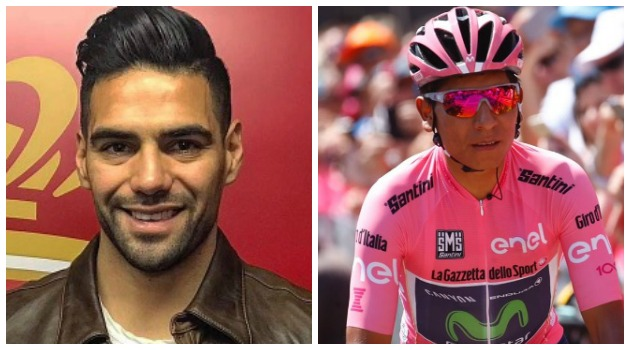 Falcao le envió un mensaje de apoyo a Nairo Quintana ¡Orgullo colombiano!