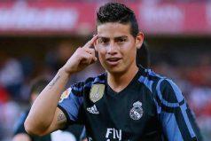 El lugar dónde James Rodríguez medita sobre su futuro ¿Se irá al Manchester United?