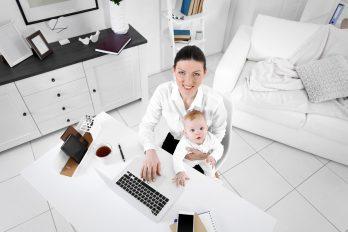 6 trabajos ideales si eres mamá de niños pequeños