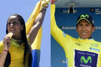 El mensaje de Mariana Pajón a Nairo tras la victoria en el Giro, ¡increíble!