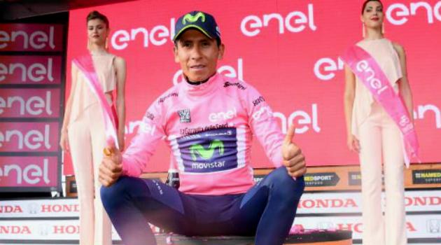 Nairo Quintana 'voló' en la contrarreloj pero no le alcanzó ¡VAMOS NAIRO!