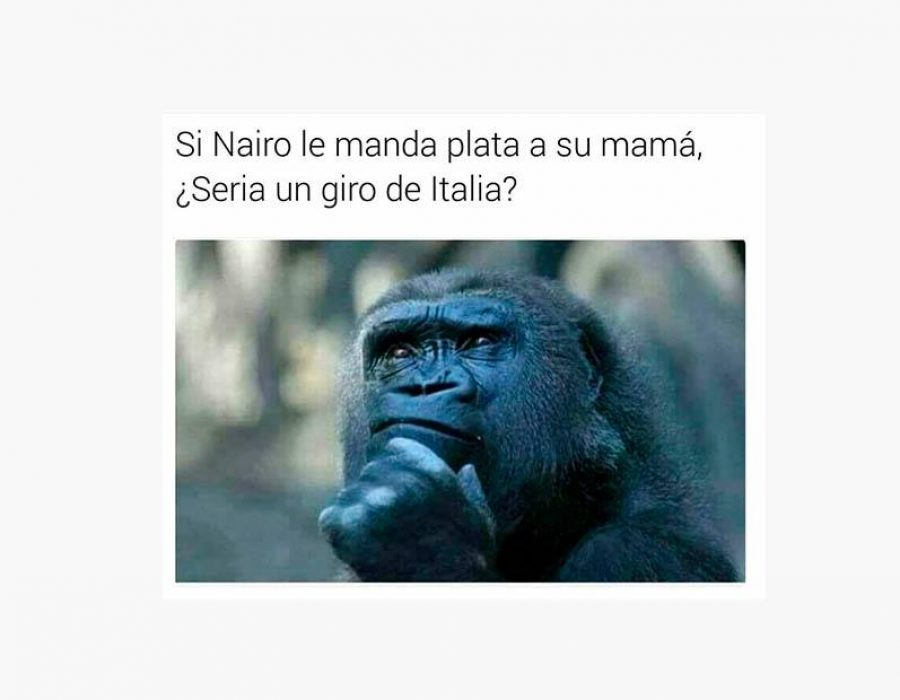 Si Nairo le manda plata a su mamá…
