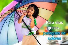 Para días grises… Paraguas de colores