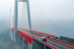 Así es el puente colgante más alto del mundo, ¡quedarás con la boca abierta!