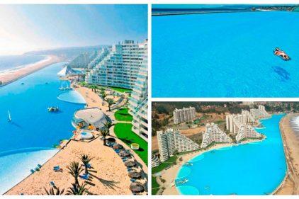 La piscina más grande del mundo también tiene el récord Guinness de la más profunda y está en América del Sur