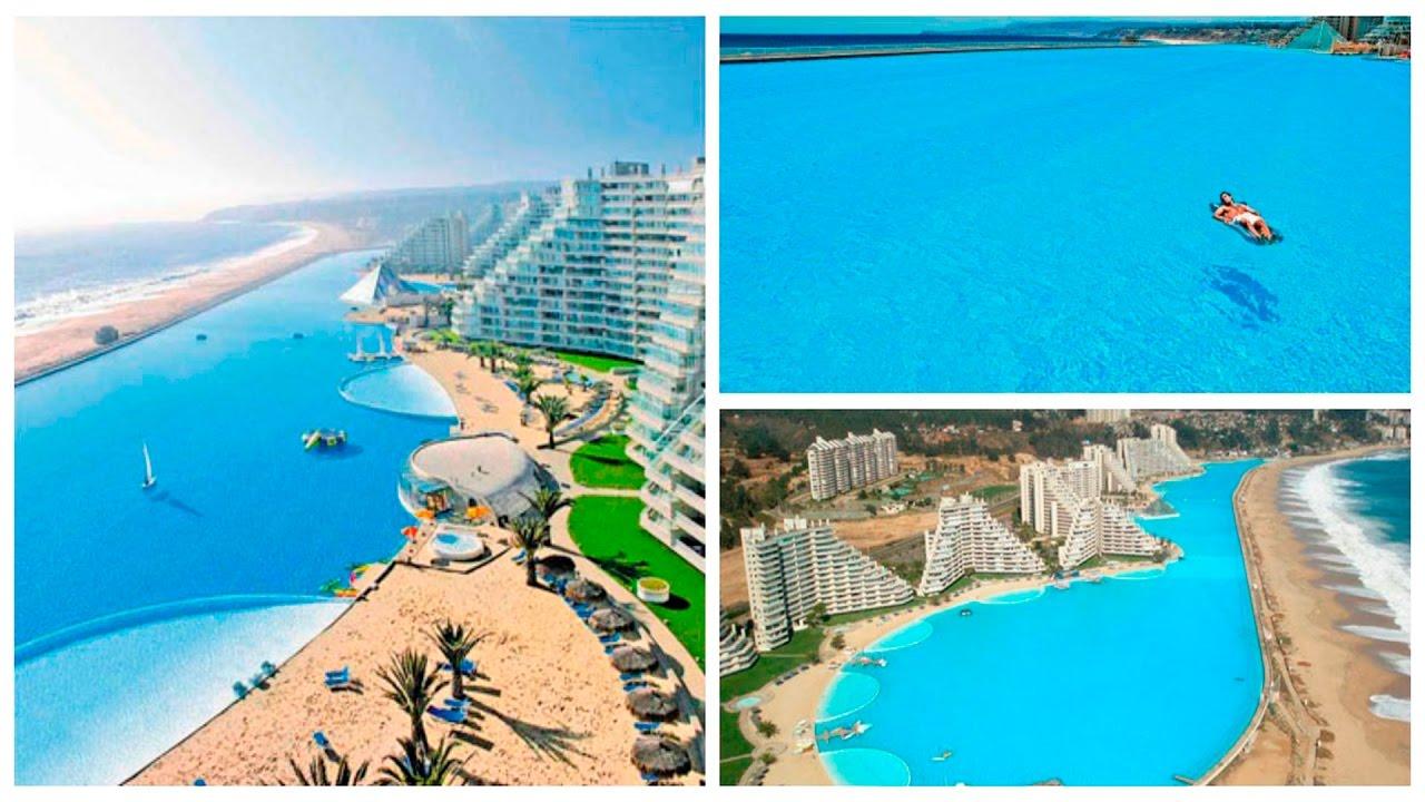 La piscina m s grande del mundo tambi n tiene el r cord for Piscina mas profunda del mundo