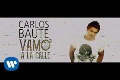 Carlos Baute anima a los venezolanos con su nueva canción 'Vamo' a la calle'. ¡Qué gran gesto!
