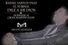 ¡Qué conmovedor! 'Dile a mi Dios', la bella canción que Rafael Santos le dedicó a su hermano Martín Elías