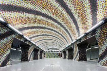 La estación de Metro más linda del mundo, ¿te gustaría conocerla?