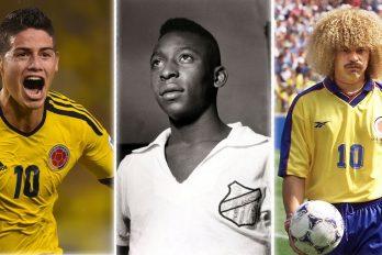 Los 8 futbolistas colombianos más famosos de la historia, ¡son los mejores!