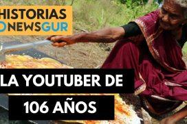 Conoce a Mastanamma, la youtuber que deleita al mundo con sus videos de comida hindú. ¡Tiene 106 años de edad!