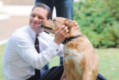 Tom Hardy, el actor de 'Star Trek' escribe una conmovedora carta por la muerte de su perro