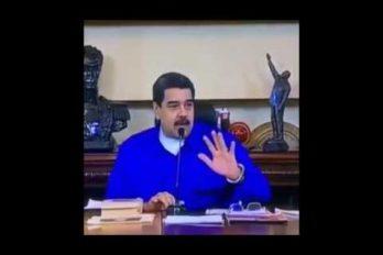 Ya sabemos por qué Maduro a veces luce desorientado. ¡Mira lo que dijo sobre los puntos cardinales!