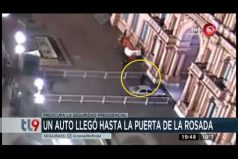 ¡Insólito! Un hombre entró con su Renault 19 a la Casa Rosada en Argentina. ¿Qué falló en la seguridad presidencial?
