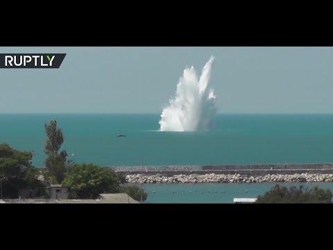 WWII-bomb-detonated-in-waters-off-Sevastopol-Russia