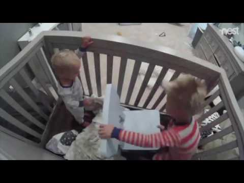 You-can-do-it-Finn-Cheeky-toddlers-ingenious-way-of-helping-baby-brother-escape-his-crib