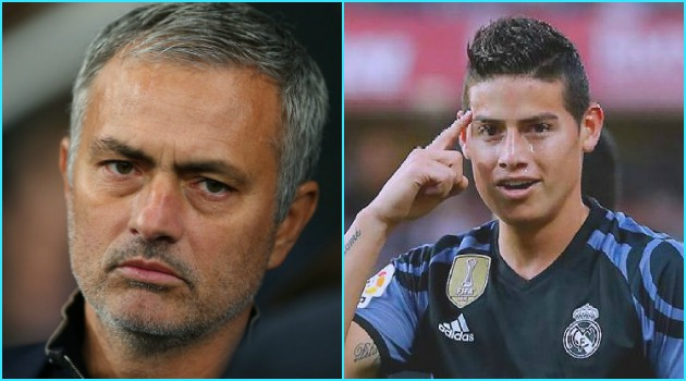 Mourinho no ha dado el visto bueno para la llegada de James al Manchester
