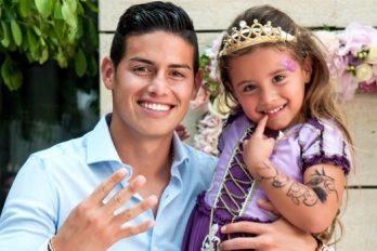 La hija de James Rodríguez estalla de alegría por esta razón. ¡Pura emoción!