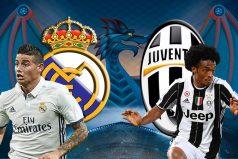 Real Madrid goleó a la Juventus, ¡igual queremos que James cambie de equipo!