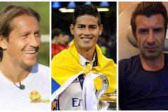 Históricos del Real Madrid hablan sobre el futuro de James Rodríguez