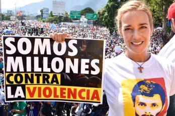 Lilian Tintori, un ejemplo de lucha femenina y liderazgo en Venezuela, ¡una mujer que nos enamora!