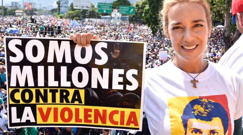 Lilian Tintori, un ejemplo de lucha y liderazgo en Venezuela