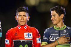 La foto de los ciclistas colombianos que enamoró a todo el país, ¡amistad y mucha fuerza!