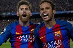 ¿Con qué cantante colombiano se fotografiaron Messi y Neymar?