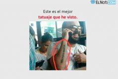 Este es el mejor tatuaje que he visto