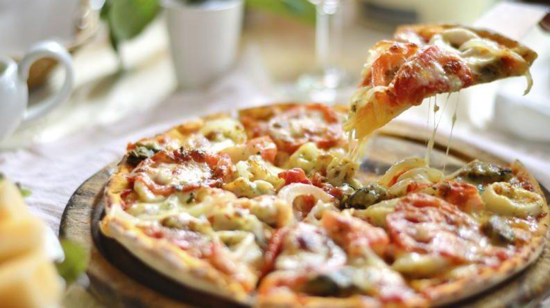pizza para los necesitados