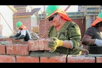Cuando la construcción se convierte en un arte. ¡Qué ingenio el de estos albañiles… o más bien, maestros!