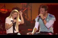 Te encantará esta versión de 'Chantaje'. ¡Shakira cantando en concierto con Chris Martin, de Coldplay!